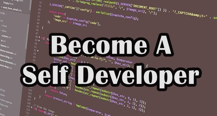 become-a-self-developer