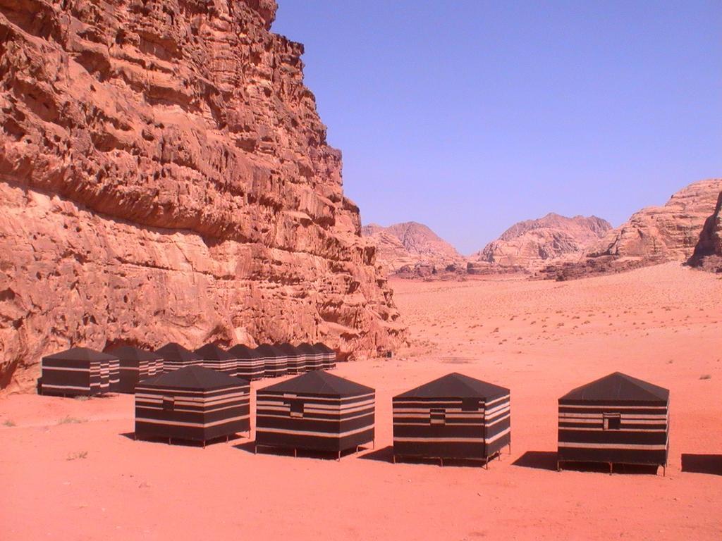 bedouing camp jordan