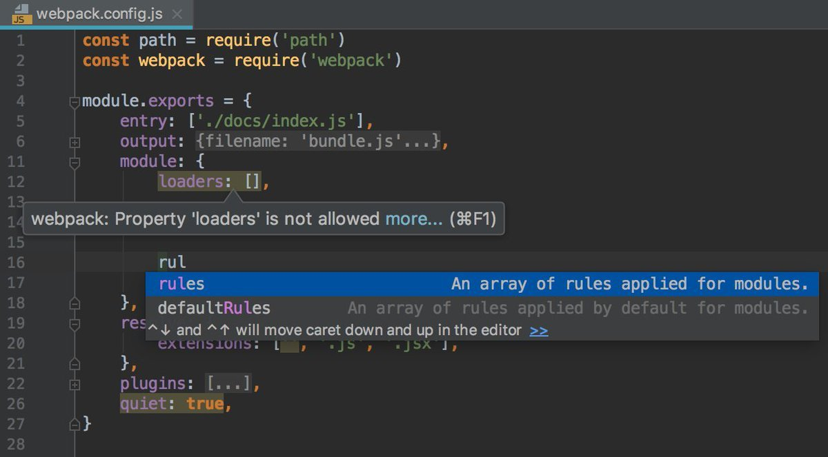 What an IDE looks like