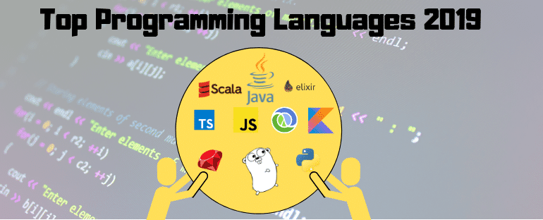 Top programming languages in 2019 for Businesses