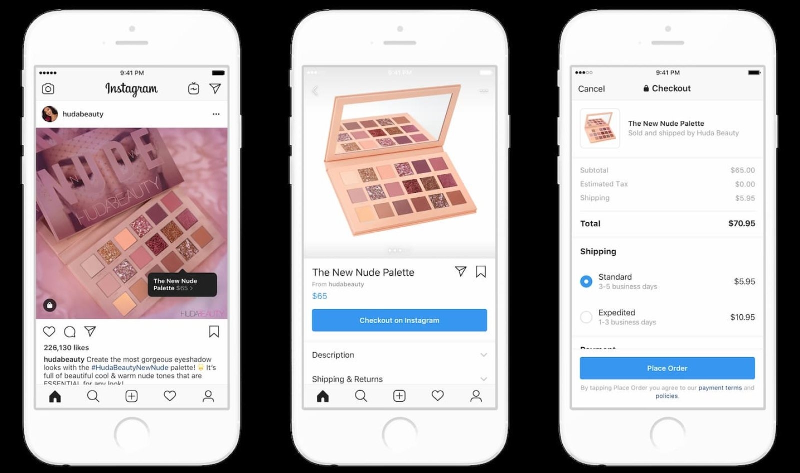 The Instagram app using React Native