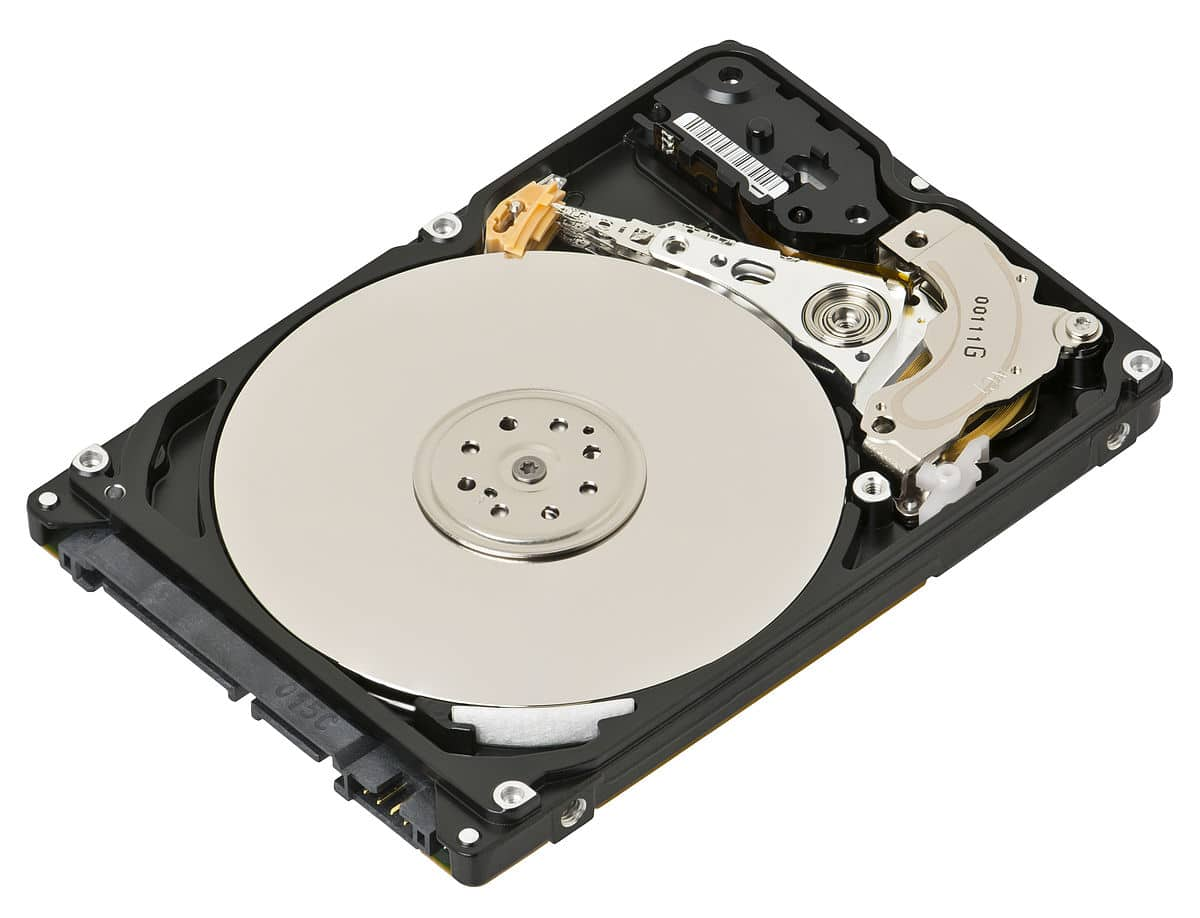 How a HDD looks like