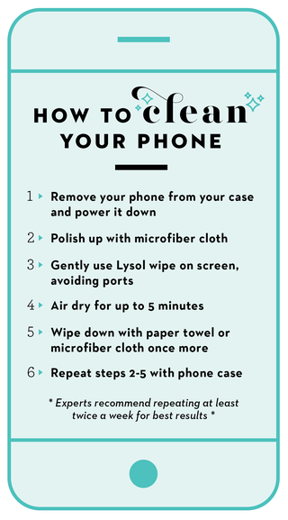 How to clean your phone in 6 easy steps
